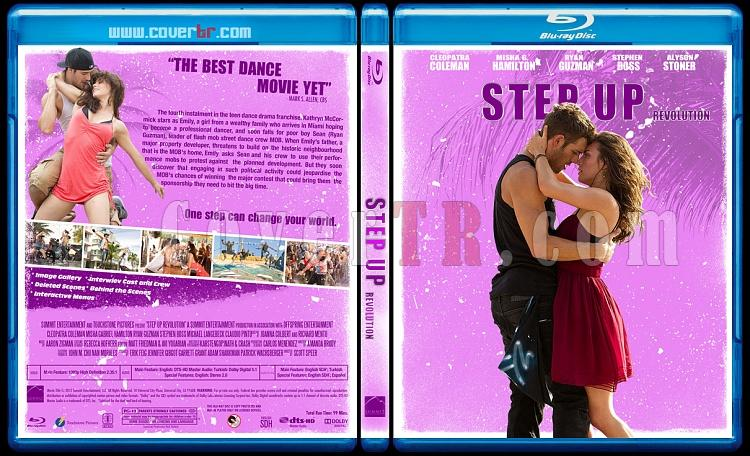 Step Up  Collection - Custom Bluray Cover Set - English-step-up-revolutionjpg