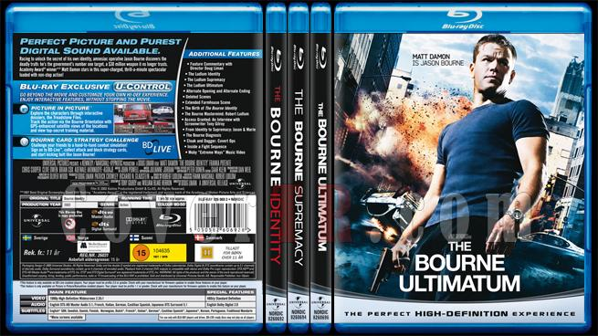 The Bourne Trilogy - Scan Bluray Cover Set - English [2002-2004-2007]-br-spine-copyjpg