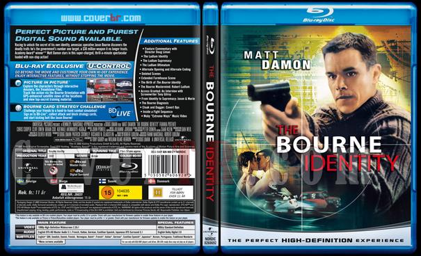 The Bourne Trilogy - Scan Bluray Cover Set - English [2002-2004-2007]-1jpg