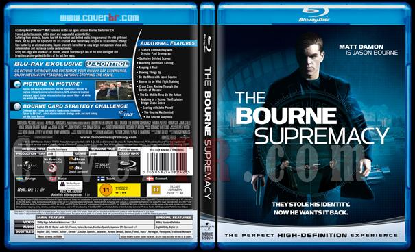 The Bourne Trilogy - Scan Bluray Cover Set - English [2002-2004-2007]-2jpg