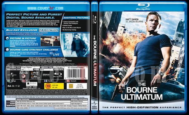 The Bourne Trilogy - Scan Bluray Cover Set - English [2002-2004-2007]-3jpg