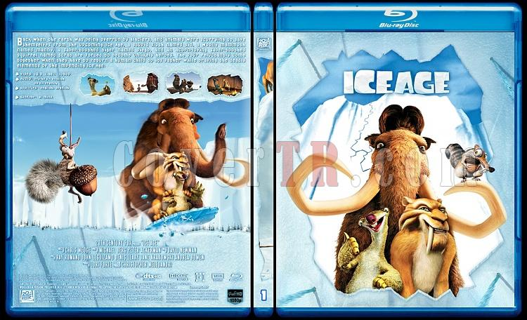 Ice Age Collection (Buz Devri Koleksiyonu) - Custom Bluray Cover Set - English-1jpg