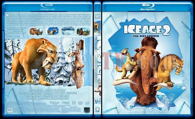 Ice Age Collection (Buz Devri Koleksiyonu) - Custom Bluray Cover Set - English-2jpg