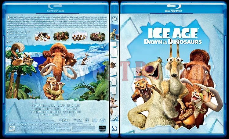 Ice Age Collection (Buz Devri Koleksiyonu) - Custom Bluray Cover Set - English-3jpg