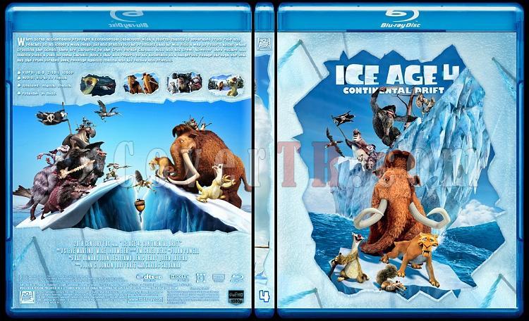 Ice Age Collection (Buz Devri Koleksiyonu) - Custom Bluray Cover Set - English-4jpg