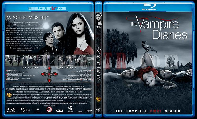 The Vampire Diaries (Seasons 1-3) - Custom Bluray Cover Set - English [2009-?]-1jpg