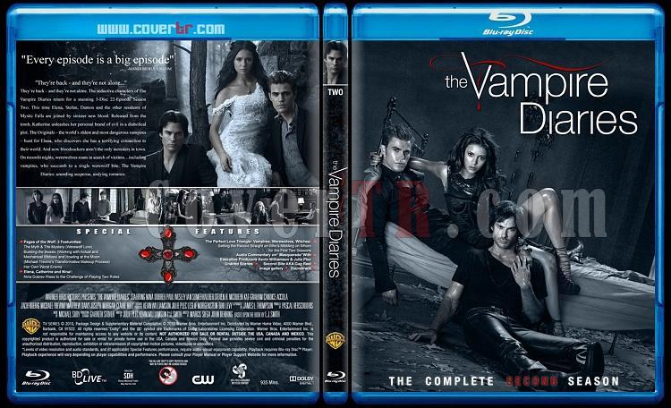 The Vampire Diaries (Seasons 1-3) - Custom Bluray Cover Set - English [2009-?]-2jpg