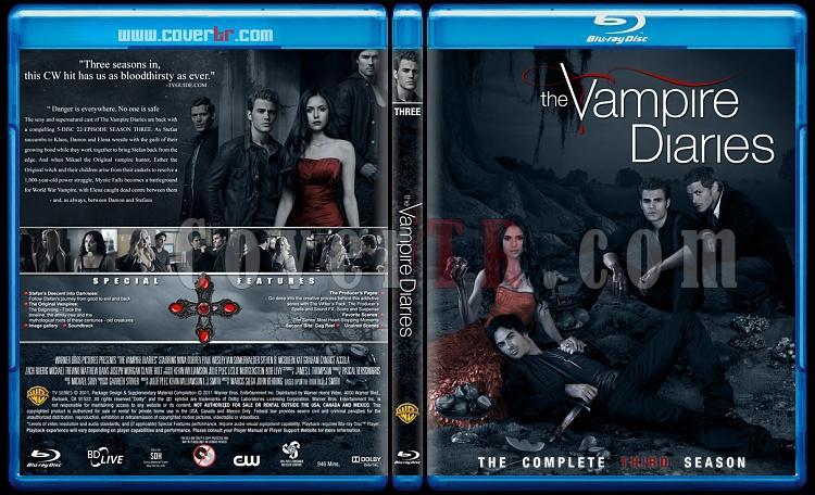 The Vampire Diaries (Seasons 1-3) - Custom Bluray Cover Set - English [2009-?]-3jpg