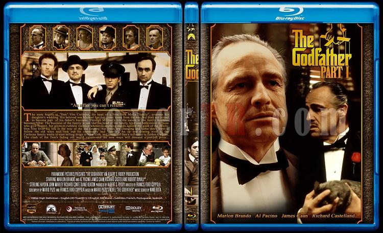 The Godfather Collection - Custom Bluray Cover Set - English [1972-1974-1990]-1jpg