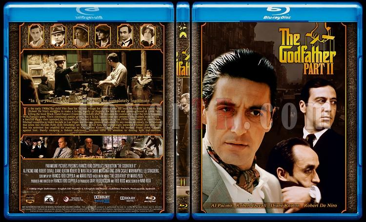 The Godfather Collection - Custom Bluray Cover Set - English [1972-1974-1990]-2jpg