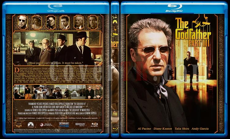 The Godfather Collection - Custom Bluray Cover Set - English [1972-1974-1990]-3jpg