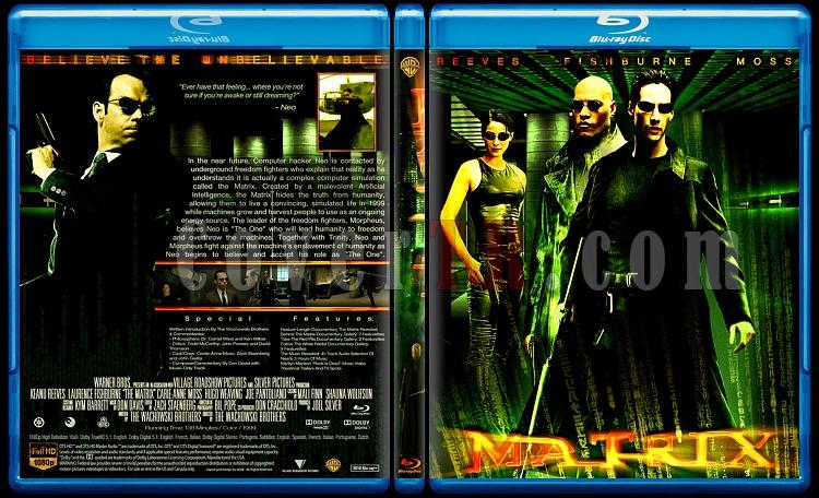 Matrix Collection - Custom Bluray Cover Set - English-11jpg