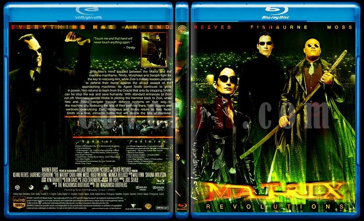Matrix Collection - Custom Bluray Cover Set - English-33jpg