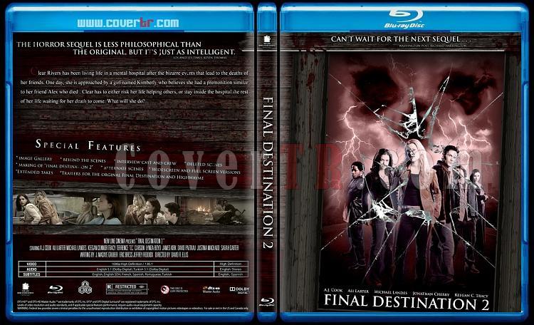 Final Destination Collection  (Son Durak Koleksiyonu) - Custom Bluray Cover Set - English-son-durak-2jpg