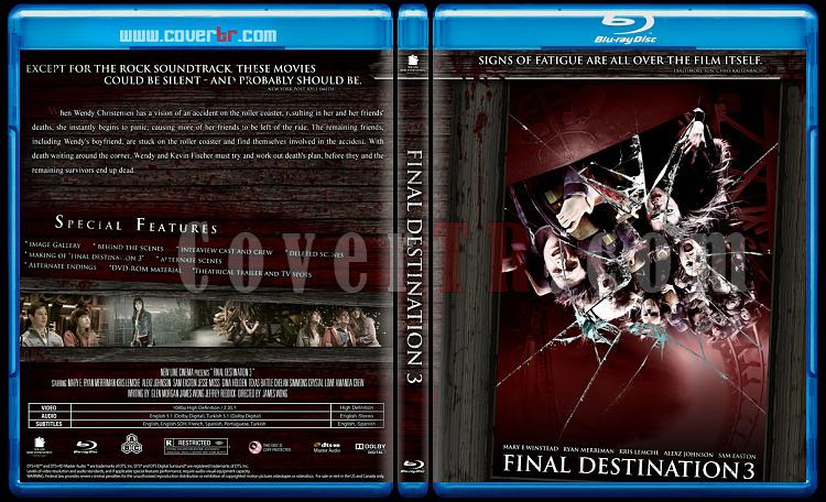 Final Destination Collection  (Son Durak Koleksiyonu) - Custom Bluray Cover Set - English-son-durak-3jpg