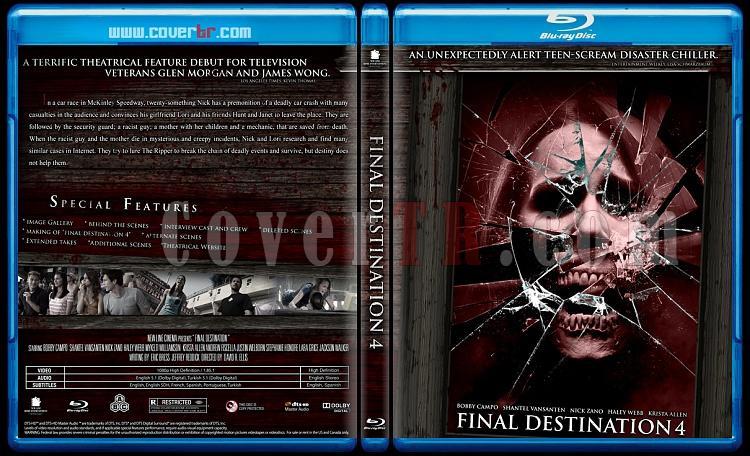 Final Destination Collection  (Son Durak Koleksiyonu) - Custom Bluray Cover Set - English-son-durak-4jpg