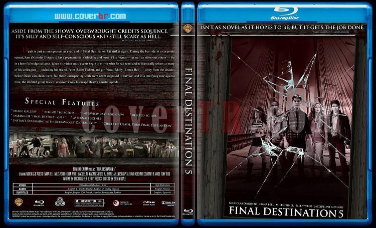 Final Destination Collection  (Son Durak Koleksiyonu) - Custom Bluray Cover Set - English-son-durak-5jpg