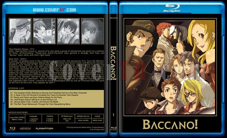 Baccano! - Custom Bluray Cover Set - English [2007-2008]-01jpg