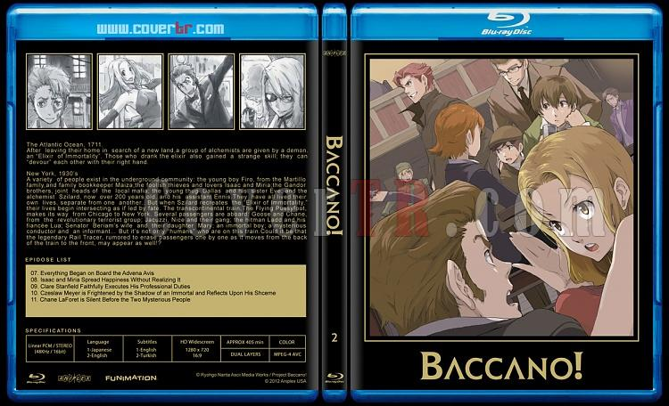 Baccano! - Custom Bluray Cover Set - English [2007-2008]-02jpg