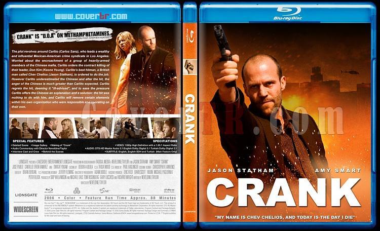 Crank Collection (Tetikçi Koleksiyonu) - Bluray Cover Set - English [2006-2009]-crankjpg