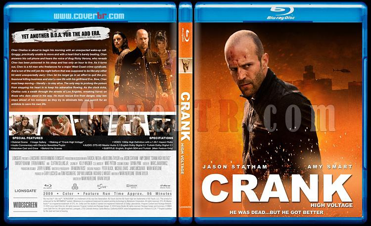 Crank Collection (Tetikçi Koleksiyonu) - Bluray Cover Set - English [2006-2009]-crank2-high-voltagejpg