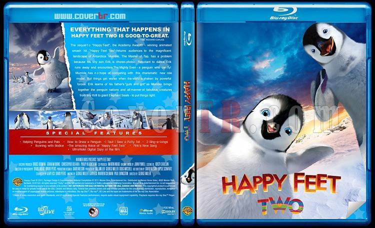 Happy Feet (Neşeli Ayaklar) - Custom Bluray Cover Set - English [2006-2011]-happy-feet-2jpg