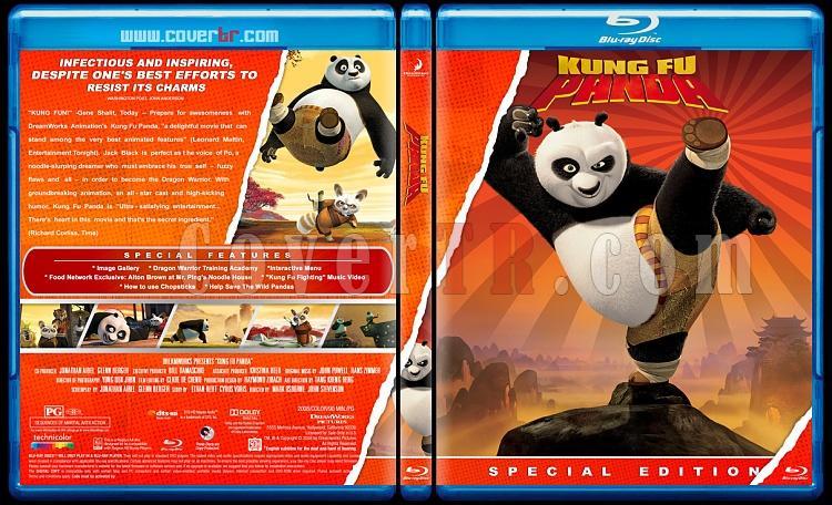 Kung Fu Panda Collection  - Custom Bluray Cover Set - English [2008-2011]-kung-fu-panda-1jpg