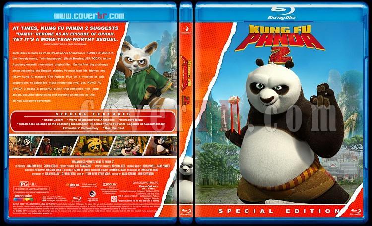 Kung Fu Panda Collection  - Custom Bluray Cover Set - English [2008-2011]-kung-fu-panda-2jpg