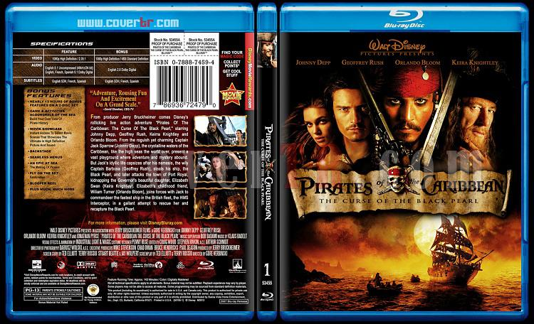Pirates of the Caribbean Collection - Custom Bluray Cover Set - English-1jpg