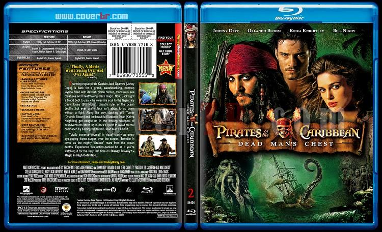 Pirates of the Caribbean Collection - Custom Bluray Cover Set - English-2jpg