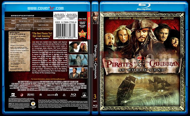 Pirates of the Caribbean Collection - Custom Bluray Cover Set - English-3jpg