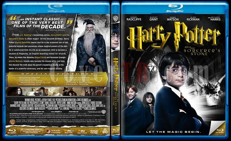 Harry Potter Collection - Custom Bluray Cover Set - English-1jpg