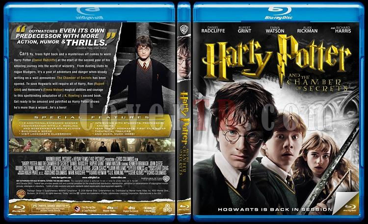 Harry Potter Collection - Custom Bluray Cover Set - English-2jpg