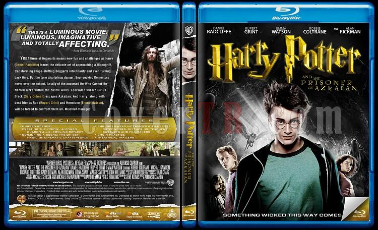 Harry Potter Collection - Custom Bluray Cover Set - English-3jpg