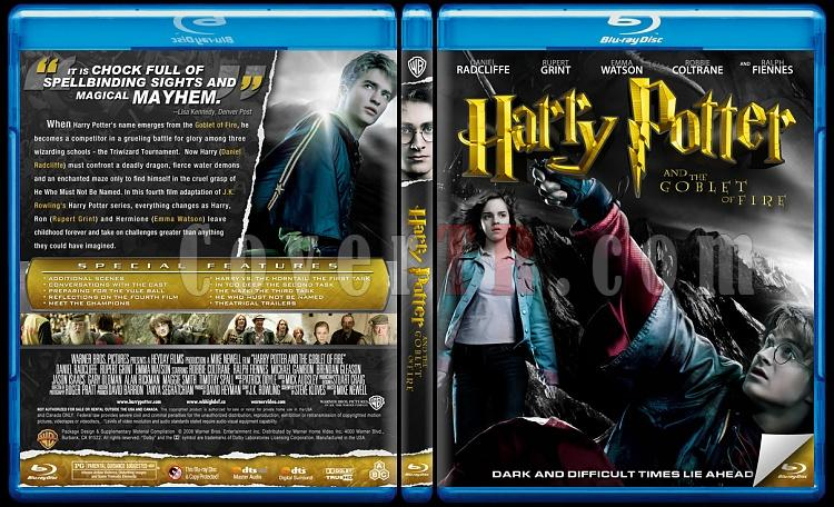 Harry Potter Collection - Custom Bluray Cover Set - English-4jpg