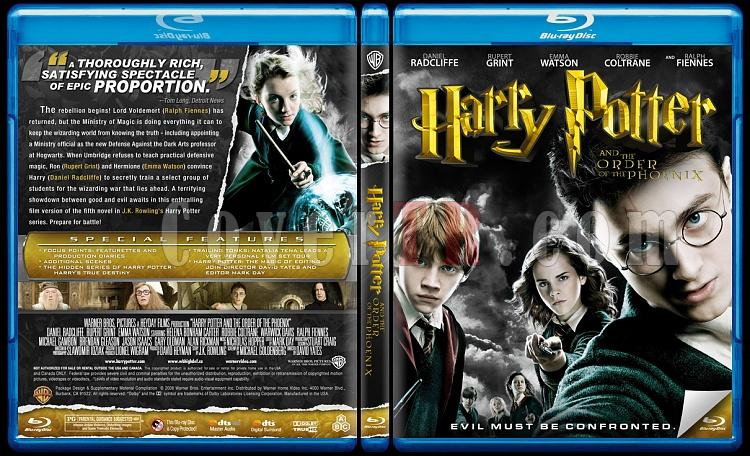 Harry Potter Collection - Custom Bluray Cover Set - English-5jpg