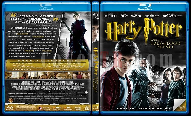 Harry Potter Collection - Custom Bluray Cover Set - English-6jpg
