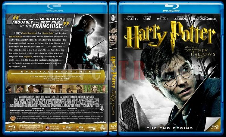 Harry Potter Collection - Custom Bluray Cover Set - English-7-1jpg