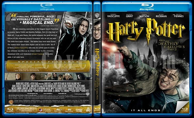 Harry Potter Collection - Custom Bluray Cover Set - English-7-2jpg