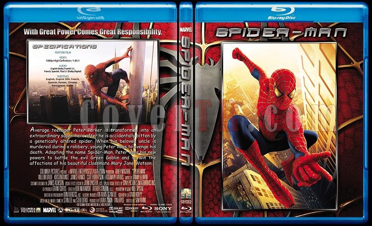 Spider-Man Trilogy (Örümcek Adam Üçlemesi) - Custom Bluray Cover Set - English [2002-2004-2007]-1jpg