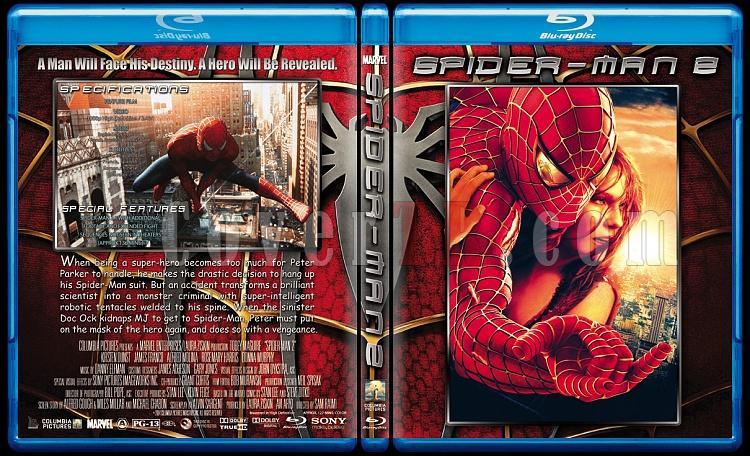 Spider-Man Trilogy (Örümcek Adam Üçlemesi) - Custom Bluray Cover Set - English [2002-2004-2007]-2jpg