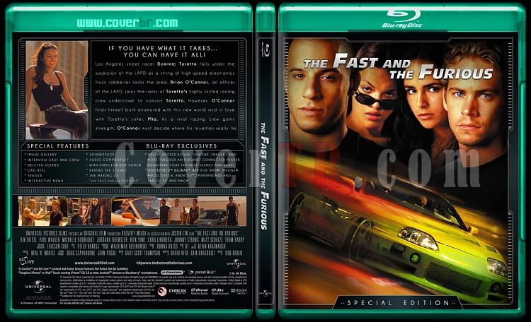 The Fast and the Furious Collection (Hızlı ve Öfkeli Koleksiyonu) - Custom Bluray Cover Set - English-fast-1jpg