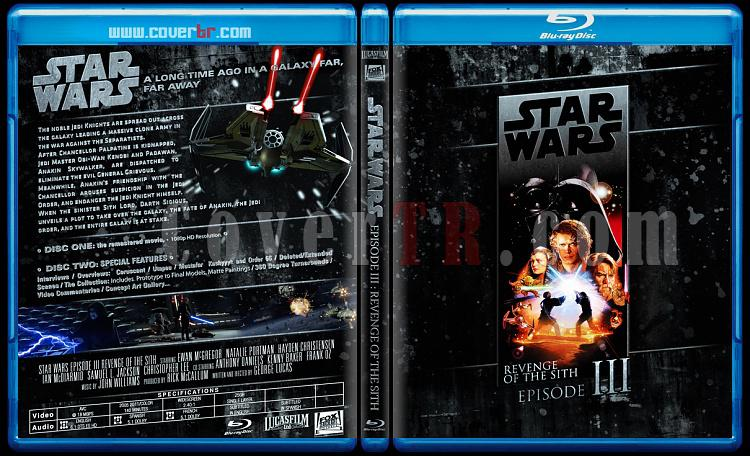 Star Wars Collection (Yıldız Savaşları Koleksiyonu) - Custom Bluray Cover Set - English-starwars3jpg