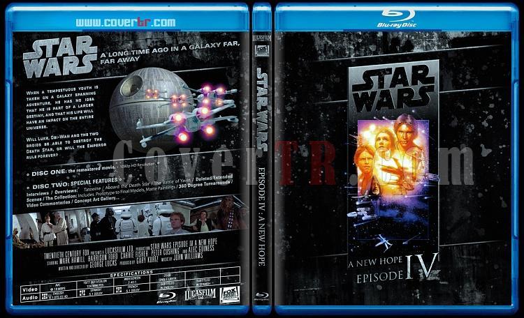 Star Wars Collection (Yıldız Savaşları Koleksiyonu) - Custom Bluray Cover Set - English-starwars4jpg