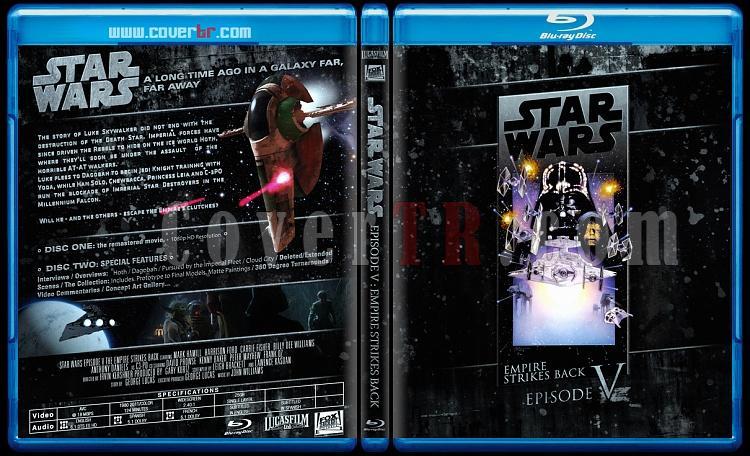 Star Wars Collection (Yıldız Savaşları Koleksiyonu) - Custom Bluray Cover Set - English-starwars5jpg