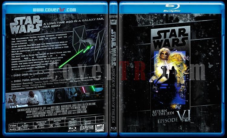 Star Wars Collection (Yıldız Savaşları Koleksiyonu) - Custom Bluray Cover Set - English-starwars6jpg
