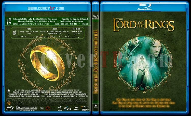 The Lord of the Rings Collection (Yüzüklerin Efendisi Koleksiyonu) - Custom Bluray Cover Set - English [2001-2002-2003]-lotr1jpg