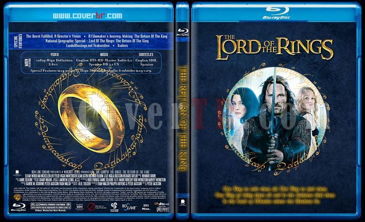 The Lord of the Rings Collection (Yüzüklerin Efendisi Koleksiyonu) - Custom Bluray Cover Set - English [2001-2002-2003]-lotr3jpg