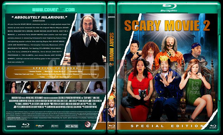 Scary Movie Collection (Korkunç Bir Film Koleksiyonu) - Custom Bluray Cover Set - English-scary-movie-2jpg