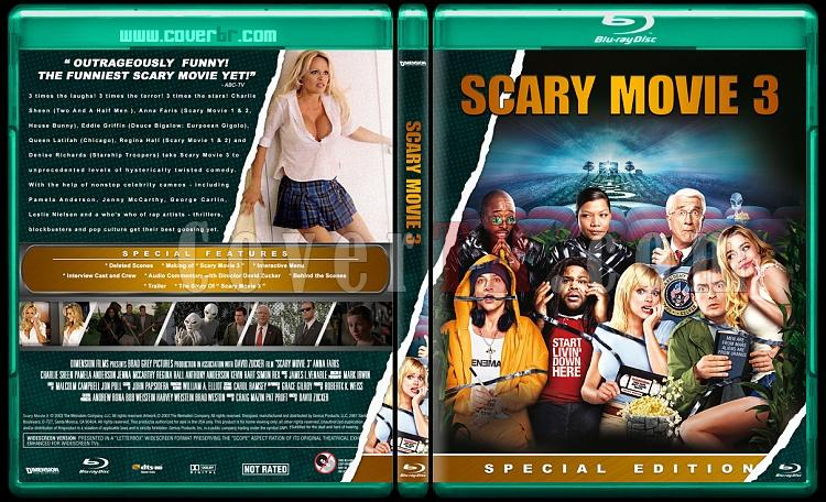 Scary Movie Collection (Korkunç Bir Film Koleksiyonu) - Custom Bluray Cover Set - English-scary-movie-3jpg